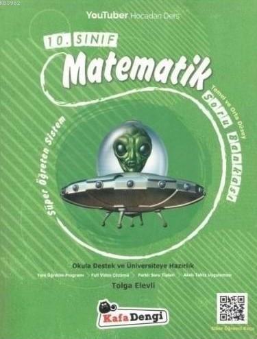 Kafa Dengi Yayınları 10. Sınıf Matematik Soru Bankası Kafa Dengi