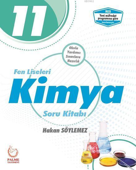 Palme Yayınları 11. Sınıf Fen Liseleri Kimya Soru Kitabı Palme