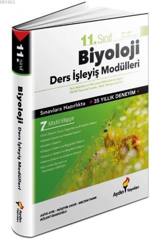 Aydın Yayınları 11. Sınıf Biyoloji Ders İşleyiş Modülleri Aydın