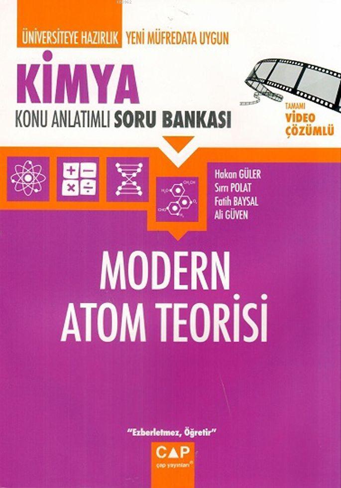 Çap Yayınları Üniversiteye Hazırlık Kimya Modern Atom Teorisi Konu Anlatımlı Soru Bankası Çap