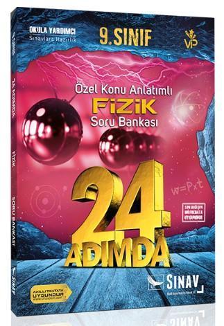 Sınav Dergisi Yayınları 9. Sınıf Fizik 24 Adımda Özel Konu Anlatımlı Soru Bankası Sınav Dergisi