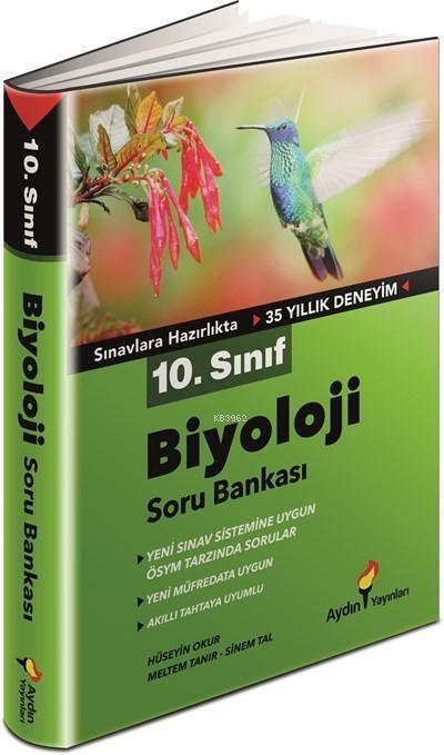 Aydın 10. Sınıf Biyoloji Soru Bankası