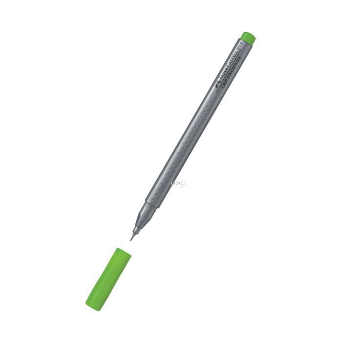 Faber Castell Grip Finepen 0.4 Çim Yeşili 151666