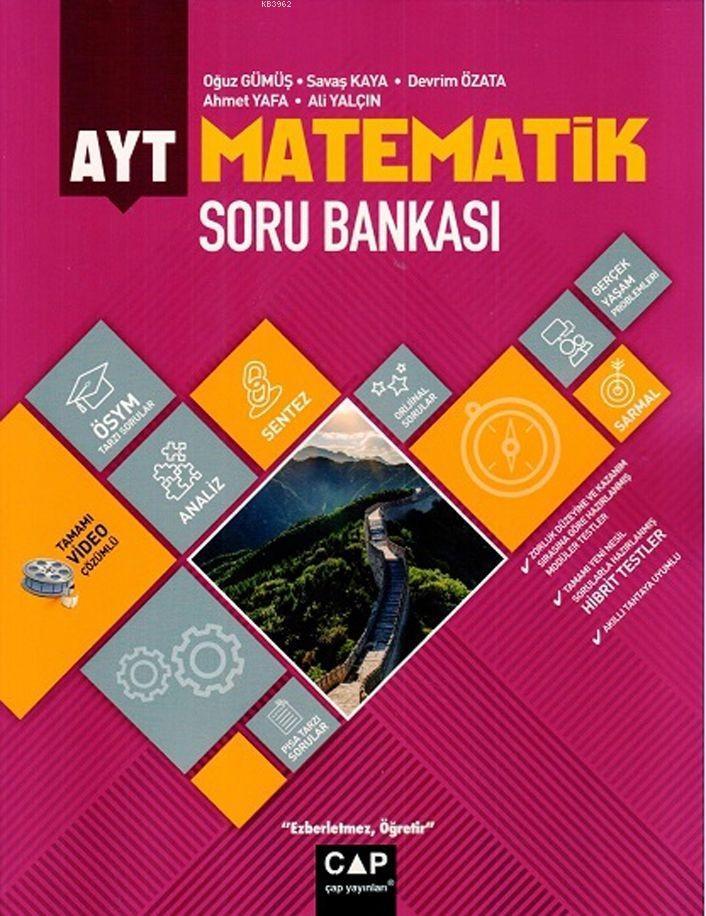 Çap Yayınları AYT Matematik Soru Bankası Çap