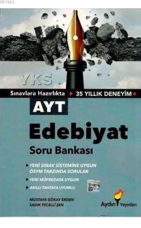 Aydın Yayınları AYT Edebiyat Soru Bankası Aydın