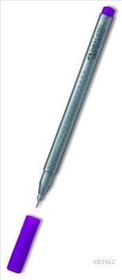 Faber Castell Grip Finepen 0.4 Açık Mor 151637