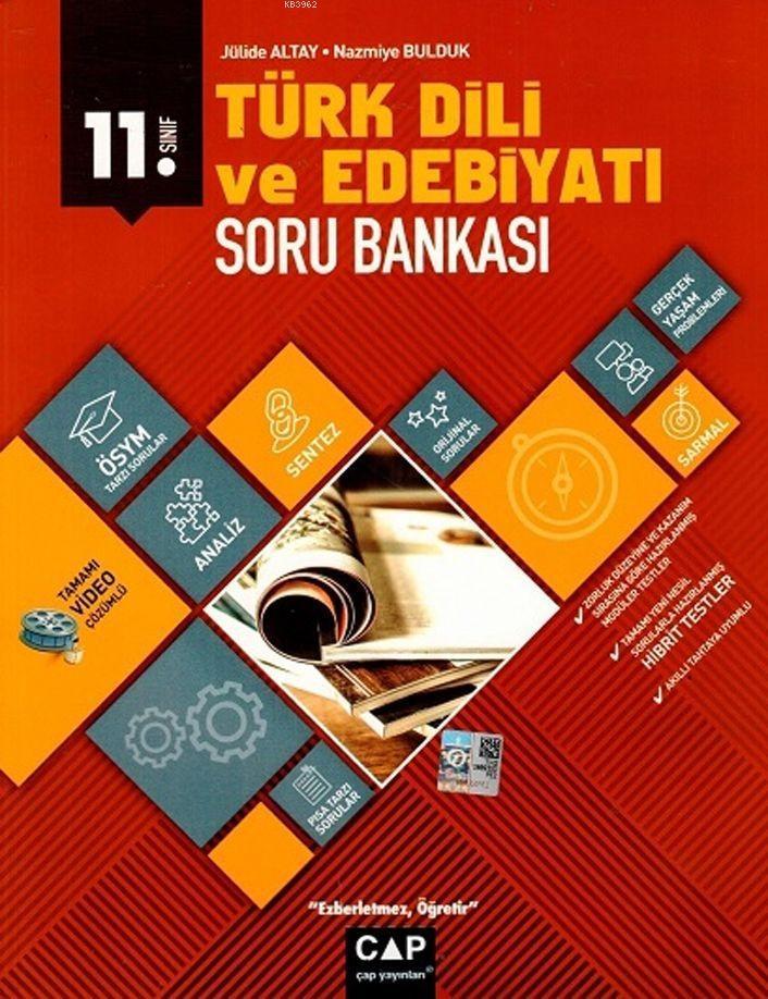 Çap Yayınları 11. Sınıf Anadolu Lisesi Türk Dili ve Edebiyatı Soru Bankası Çap