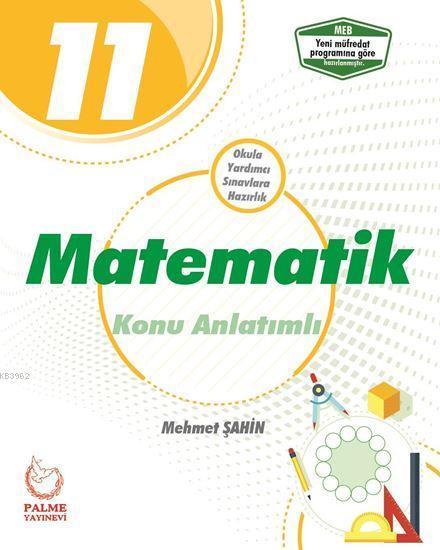 Palme Yayınları 11. Sınıf Matematik Konu Anlatımlı Palme