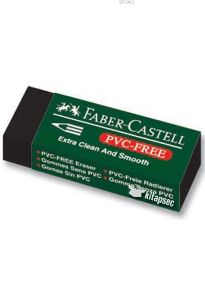 Faber Castell Plastik Silgi 7089/20 Siyah 2li Blister