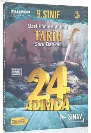 Sınav Dergisi Yayınları 9. Sınıf Tarih 24 Adımda Özel Konu Anlatımlı Soru Bankası Sınav Dergisi