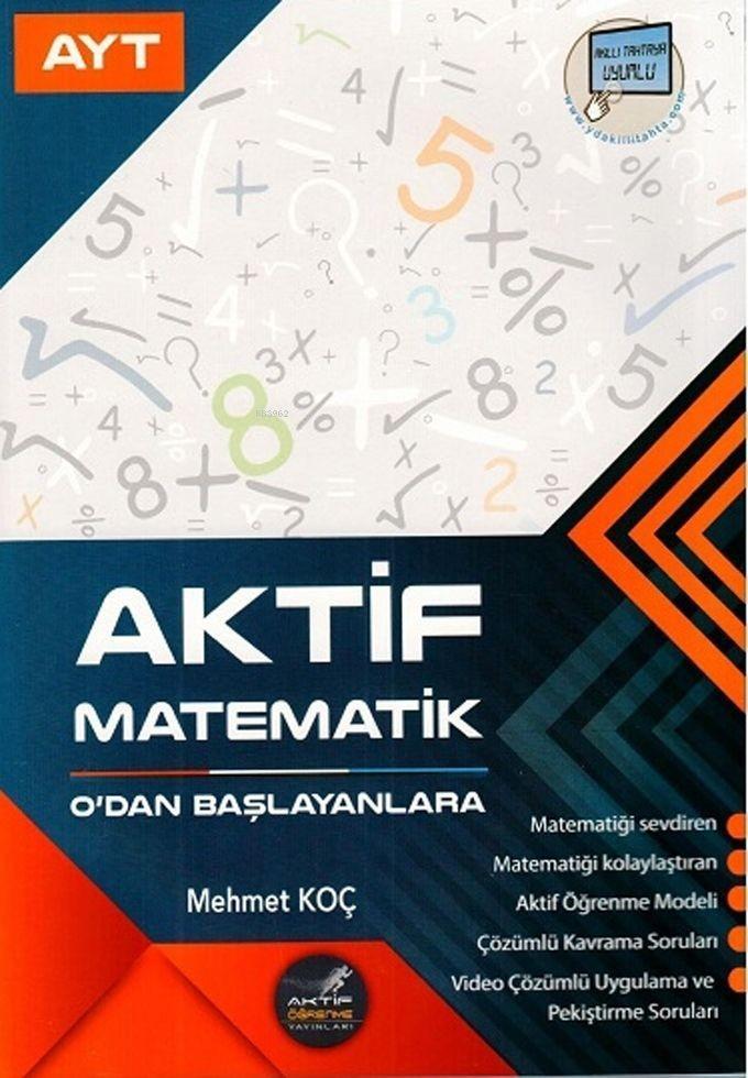 Aktif Öğrenme Yayınları AYT Aktif Matematik 0 dan Başlayanlara Aktif Öğrenme