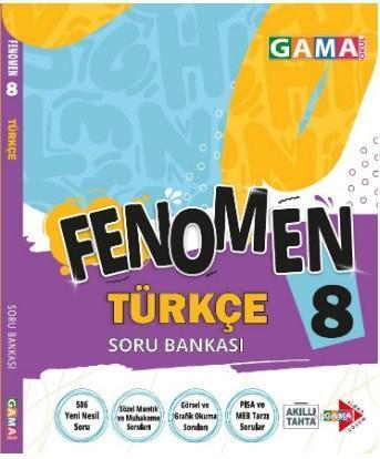 Gama 8. Sınıf Fenomen Türkçe Soru Bankası