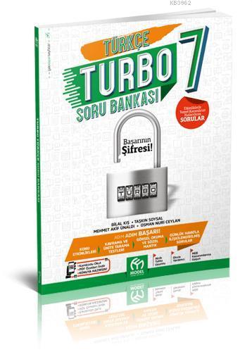 Model Eğitim Yayınları 7. Sınıf Türkçe Turbo Soru Bankası Model Eğitim
