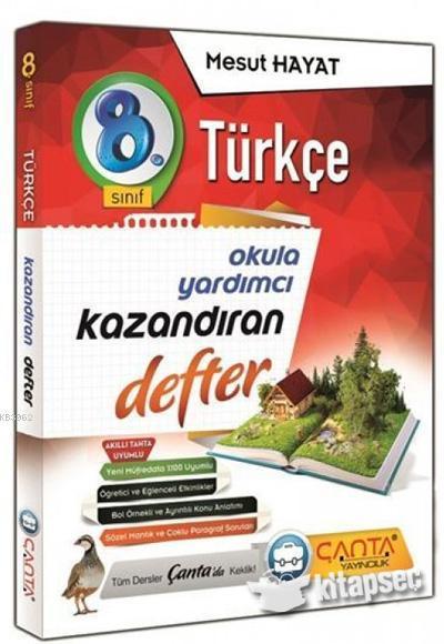 Çanta 8.Sınıf Defter Kazandıran Türkçe