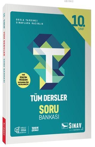 Sınav Dergisi Yayınları 10. Sınıf Tüm Dersler Soru Bankası Sınav Dergisi