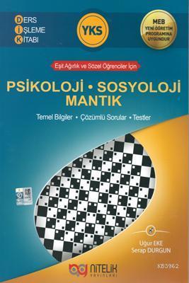 Nitelik Yayınları YKS Psikoloji Sosyoloji Mantık Ders İşleme Kitabı Yeni