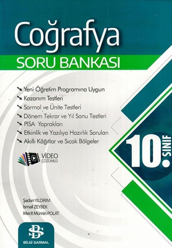 Bilgi Sarmal Yayınları 10. Sınıf Coğrafya Soru Bankası Bilgi Sarmal