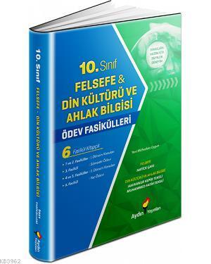 Aydın Felsefe-Din Kültürü ve Ahlak Bilgisi Ödev Fasikülleri 10.Sınıf