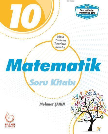 Palme Yayınları 10. Sınıf Matematik Soru Kitabı Palme