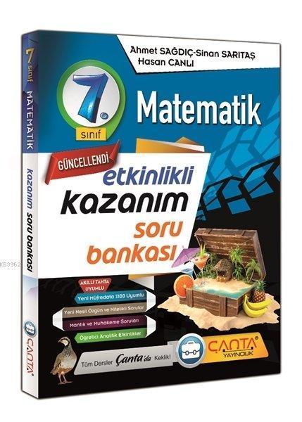 Çanta 7.Sınıf Kazanım Matematik Soru Bankası